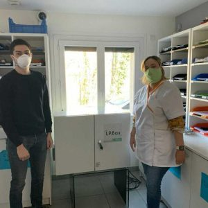 Installation of our LP.Box at ADN87, home care services